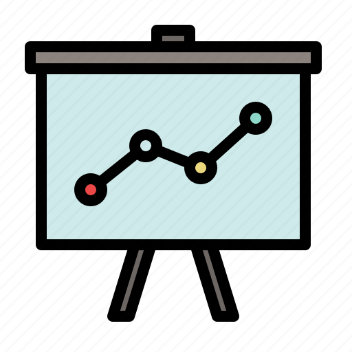 analytics, business, chart, diagram, evolution, graph, marketing icon