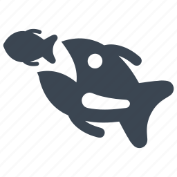 aquatic, fish, fishing, food icon