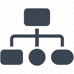 business, chart, diagram, graph, heirarchy icon