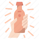 bottle, drinks, packaging, product, new product, sample product