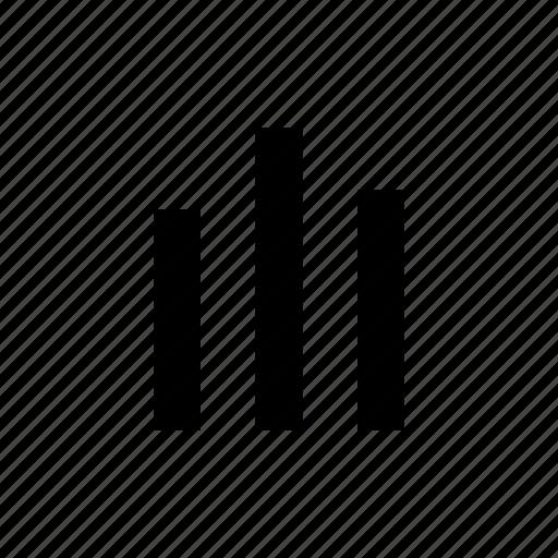 bars, graph, market icon