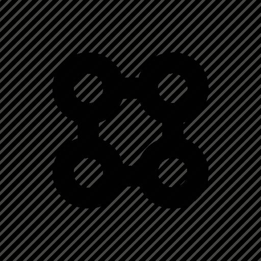 chain, chain of custody, network icon