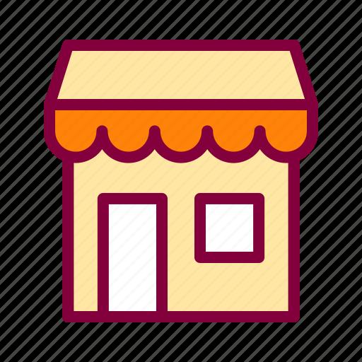 commerce, market, marketplace, shop, store icon