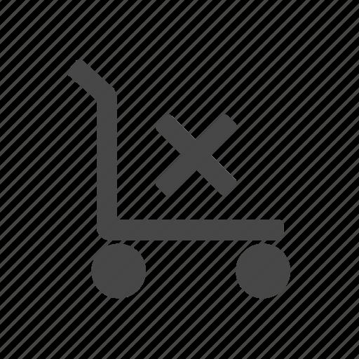 cargo, cart, luggage, tool icon