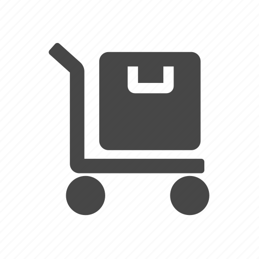 cargo, cart, luggage, package, tool icon