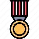 battle, fight, martial art, medal icon