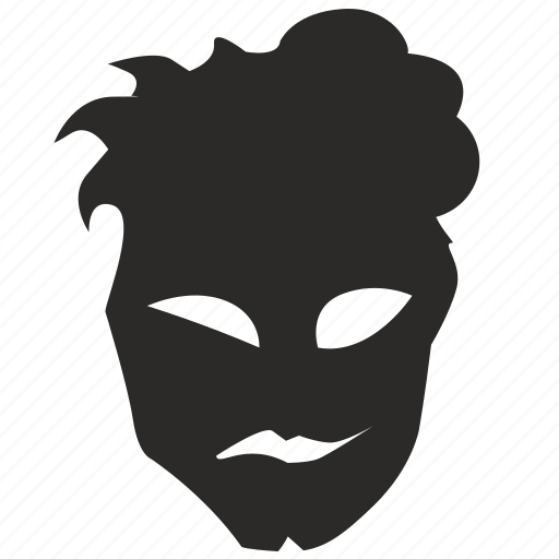 duplicity, evil, face, good, hate, mask, smile icon