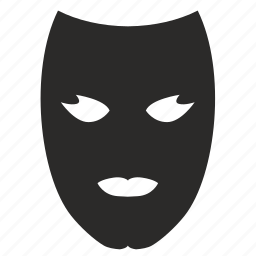 carnaval, face, mask, person, secret icon