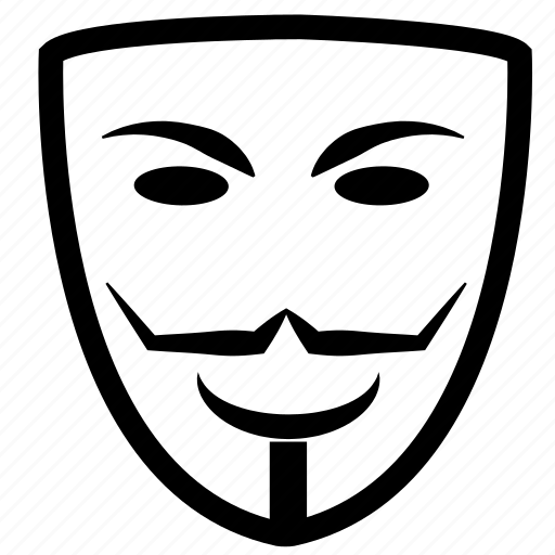 anonymous, carnival, costume, guy fawkes, mask, masquerade, opera icon