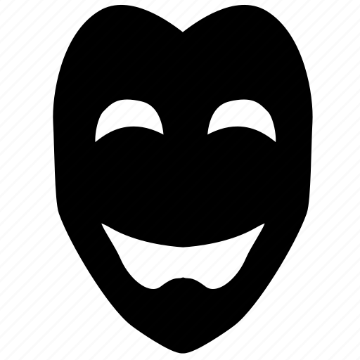 carnival, comedy, happy, human, mask, masquerade, theater masks icon