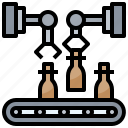and, boxes, construction, electronics, manufacturing, tools icon