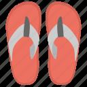 bathroom slipper, flip flops, footwear, slipper, softy shoes icon