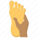 feet bath, feet spa, foot massage, foot relaxing, pedicure icon