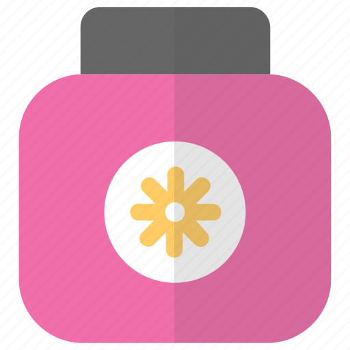 beauty product, cleanser, massage cream, moisturizer, sunscreen lotion icon