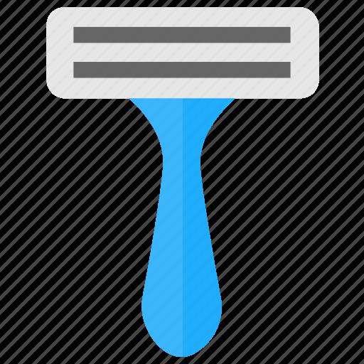 hair removal, razor, safety razor, shaving face, shaving kit icon