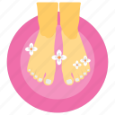 feet care, feet cleanliness, feet massage, pedicure, spa services