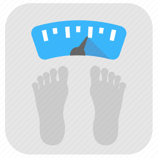 fitness idea, healthy lifestyle, weighing machine, weighing scale, weight loss icon