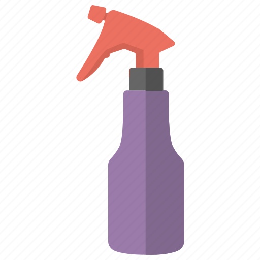barber accessory, barber spray bottle, hair product, trigger spray bottle, water sprayer icon