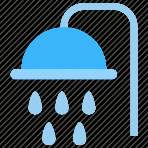 bath, bathe, rain, shower, wash icon