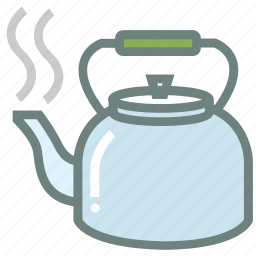 kettle, tea, tea kettle, tea pot, tea set, tea theme, tea time icon