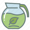 beverage, green tea, hydrate, matcha, pot, refreshing, tea icon