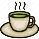 bottle, cup, drink, glass, hot, tea, water icon