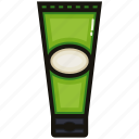 green, lotion, matcha, nature, tea icon