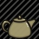 coffee, drink, glass, hot, matcha, pot, tea icon