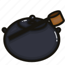 drink, matcha, original, pot, tea icon