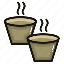 cup, drink, glass, hot, matcha, tea icon