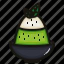 bingsu, cafe, dessert, green, matcha, sweet, tea icon