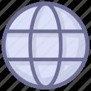 internet, network, world icon