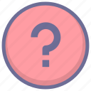 faqs, help, question, support icon