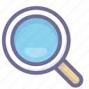 find, search, see icon