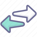datas, transaction, transfer icon
