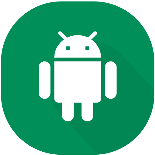android, app, circle, design, device, material, smartphone icon