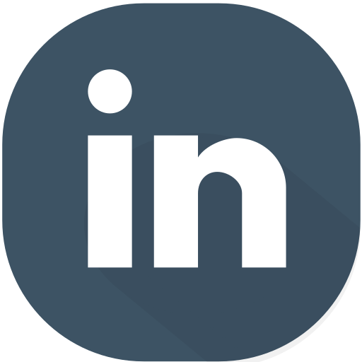 business, circle, design, linkedin, material, network, social icon