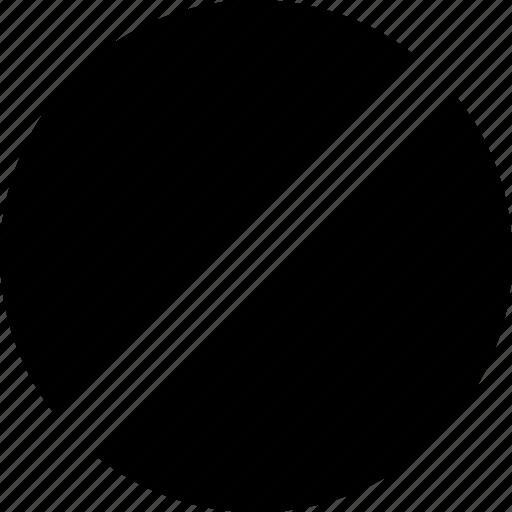 block, cancel, sign, symbol icon