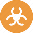 biohazard, biohazard sign, sign, symbol icon