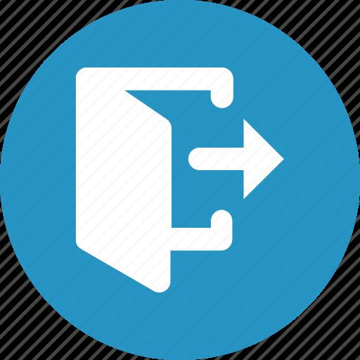 door quit exit icon download on iconfinder door quit exit icon download on iconfinder