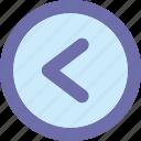 arrow, back button, button, left icon