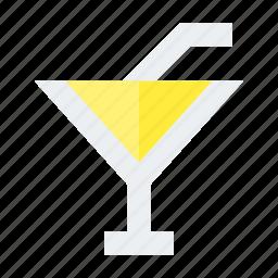 cocktail, drink, glass, juice, lemonade icon