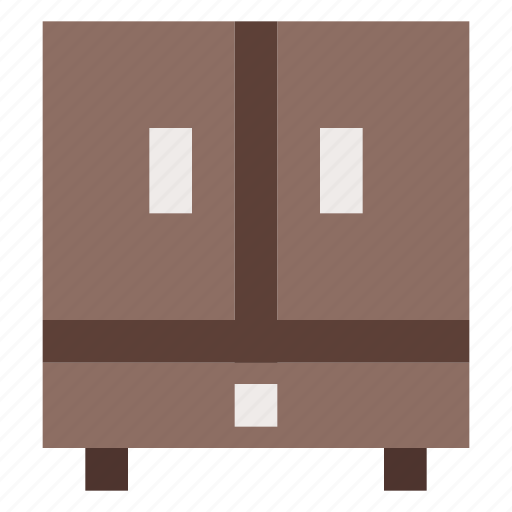 cabinet, cupboard, furniture, interior, wardrobe icon