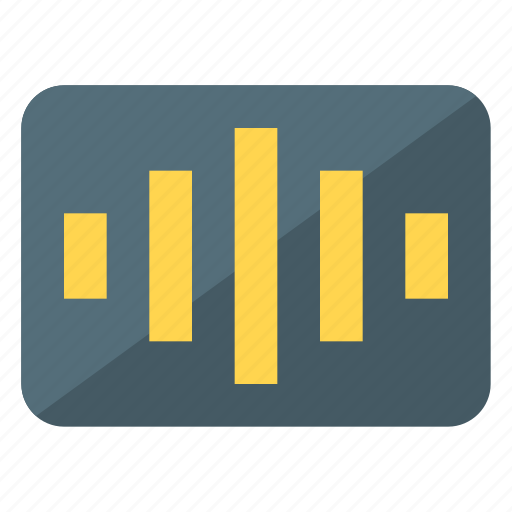 audio, equalizer, music, setting, sound icon