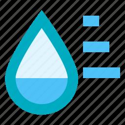 humidity, rain, steam, weather icon