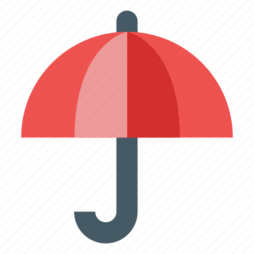 forecast, insurance, protection, rain, umbrella, weather icon