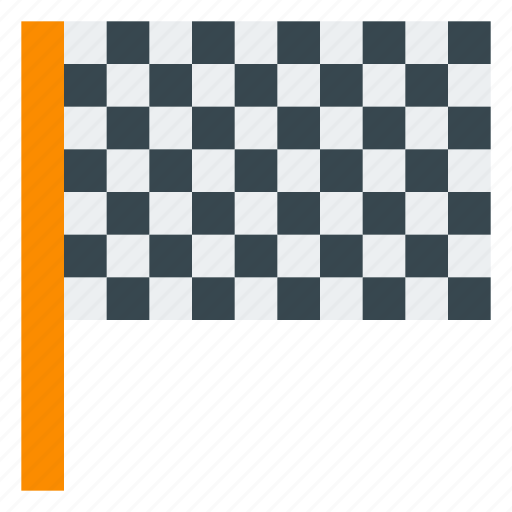 f1, finish, flag, race, racing, racing flag, sport icon
