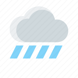cloud, forecast, rain, rainy, weather icon