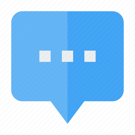 bubble, chat, comment, message, sms, talk icon