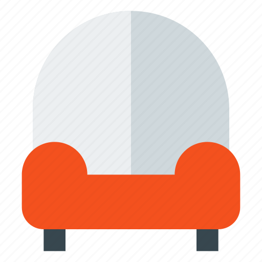 armchair, couch, furniture, interior, living room, lounge, sofa icon